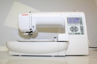 Janome Memory Craft 200 E incl. Sticksoftware Digitizer Jr. 4.5