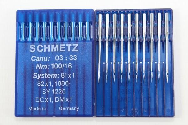 Rundkolbennadeln Stärke 100 System 81x1 / 82x1 / 1886-SY 1225 / DCx1 / DMx1