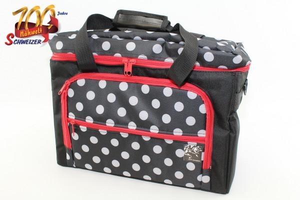 Tasche für Nähmaschinen, Polka Dots Jubiläumsangebot Nr. 78