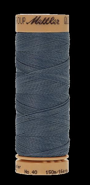 Nähgarn 150 Meter, Farbe:0881, Mettler Quilting, Baumwolle/Polyester, 2fach gewachst 10er Pack
