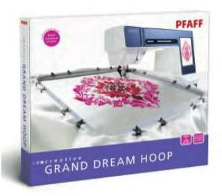 PFAFF creative GRAND DREAM HOOP