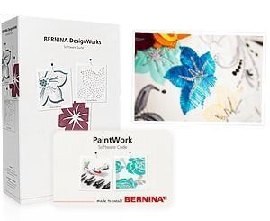Bernina PaintWork Komplett-Set: Software + Access-code + Tool