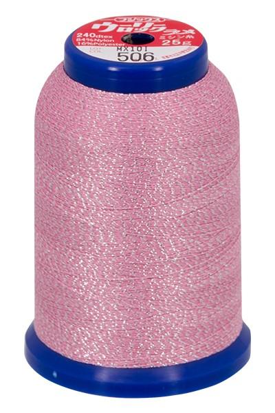 Baby Lock Metallic Bauschgarn 1000m (pink-silber)