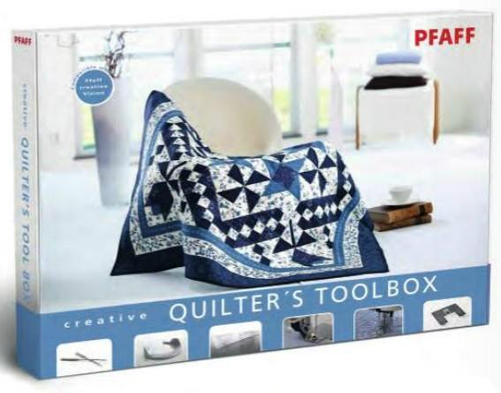 Pfaff creative Quilters Toolbox Code J