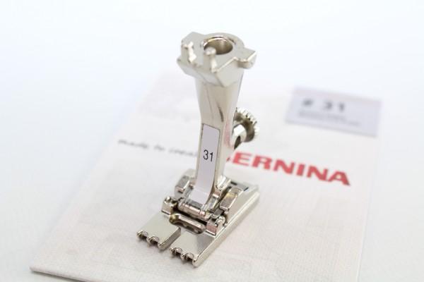 Bernina Biesenfuß Nr. 31 mit 5 Rillen für alte Modelle
