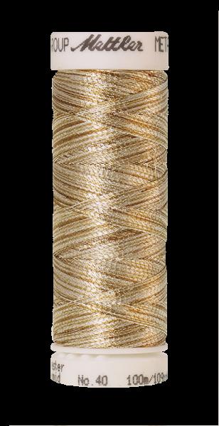 METALLIC gold und silber (100 meter)