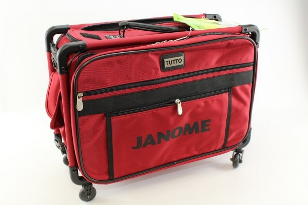 Janome Trolley in rot (klein)