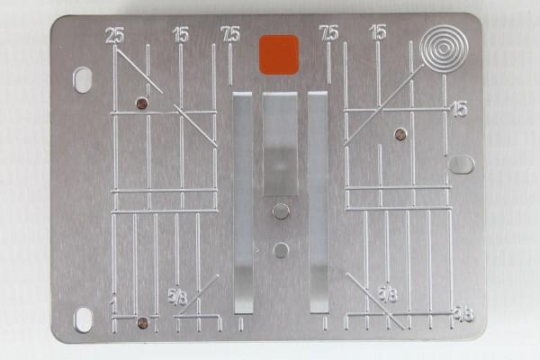 Original Bernina Gerad- und CutWork-Stichplatte (Ea 2 Eb 2 Ec1 Ec2)