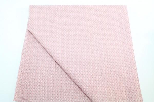 Baumwollstoff Scallop rosa