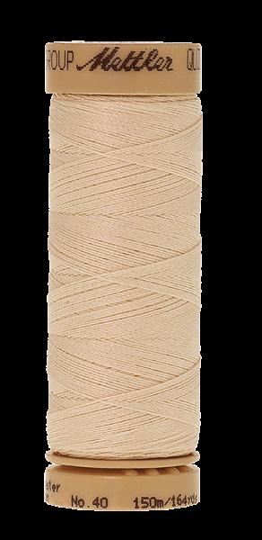 Nähgarn 150 Meter, Farbe:0004, Mettler Quilting, Baumwolle/Polyester, 2fach gewachst