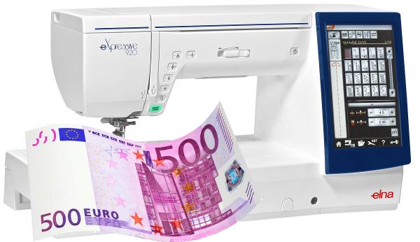 Elna eXpressive 920 - Eintauschpreis