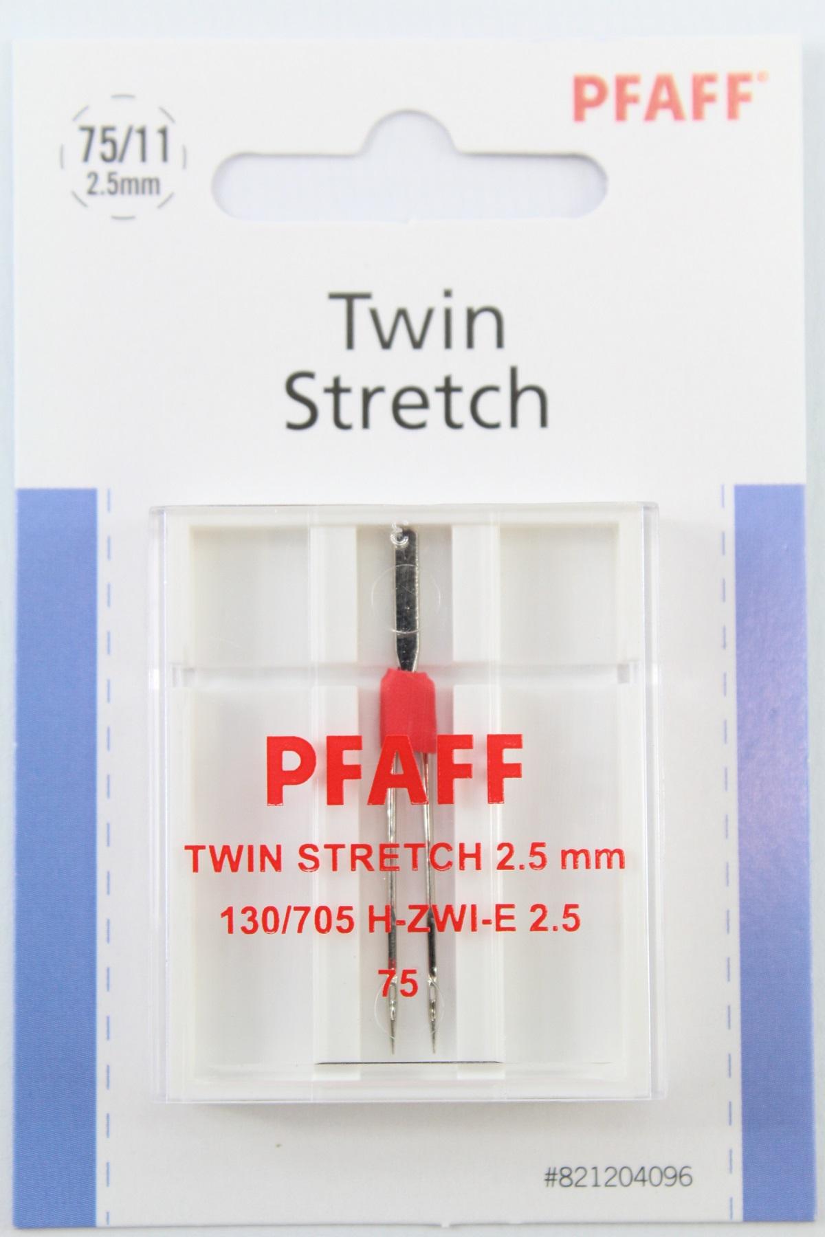 Original Pfaff N/ähmaschinen Zwillingsnadel Stretch//Jersey 130//705 H-ZWI-E St/ärke 4.0//75 f/ür Pfaff Ambition