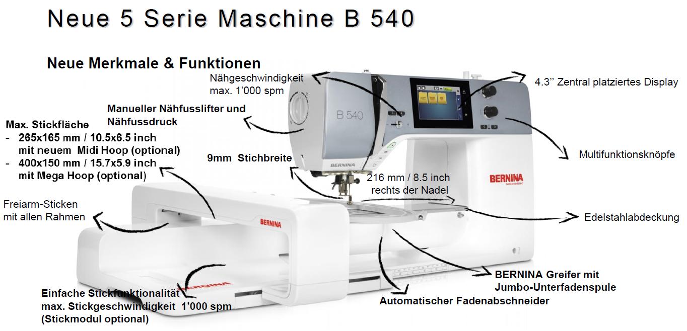 Beschreibung-B540