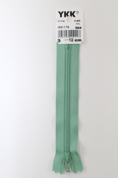 YKK-Reissverschluss 12cm-60cm, nicht teilbar, schilf