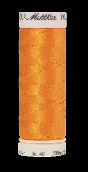 Stickgarn 200 Meter, Farbe:0800, Amann Poly Sheen