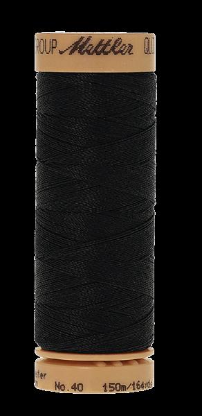 Nähgarn 150 Meter, Farbe:0003, Mettler Quilting, Baumwolle/Polyester, 2fach gewachst