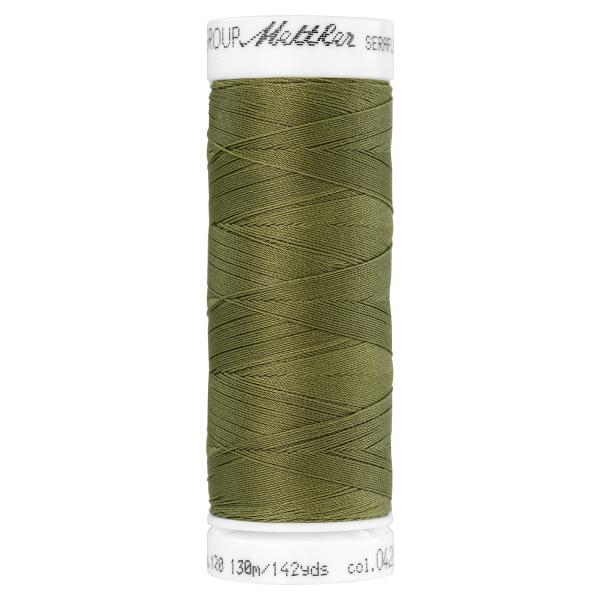 Amann Mettler Seraflex 130m Elastikgarn Nr.0420(oliv)
