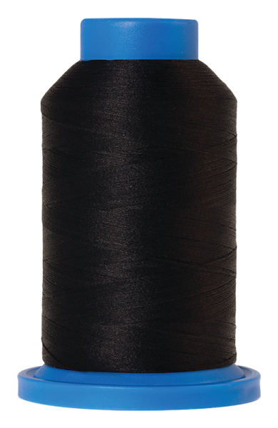 Bauschgarn 1000Meter, Seraflock, schwarz, Farbe:4000
