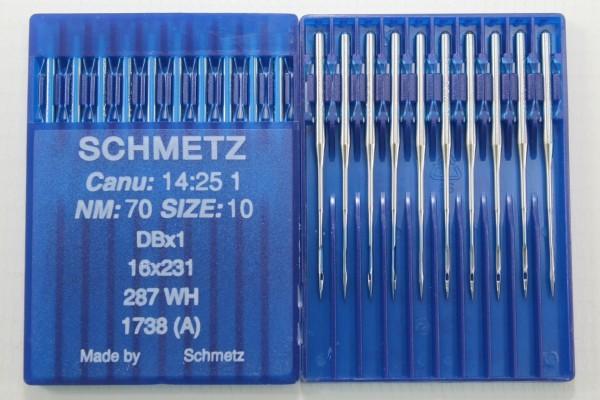 Rundkolbennadeln Stärke 70 System DBx1 / 16x231 / 287 WH / 1738 (A)