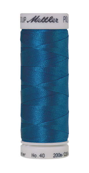 Stickgarn 200 Meter, Farbe:3901, Amann Poly Sheen