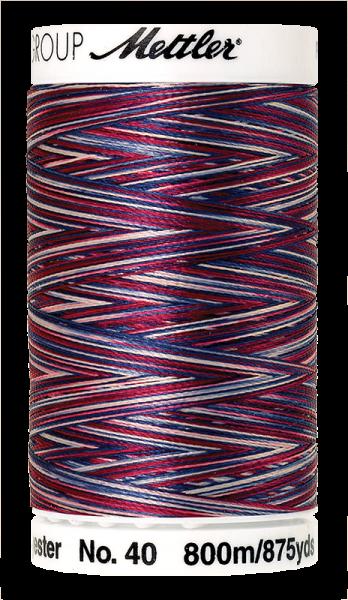 Stickgarn 800 Meter, Farbe:9918, Amann Poly Sheen Multi