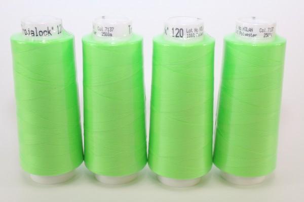 Trojalock Nr. 7137 Grün Neon 4x 2500m