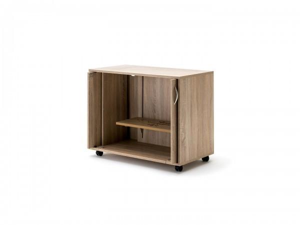 BASE Einschub-Türen Möbel mit Rollen