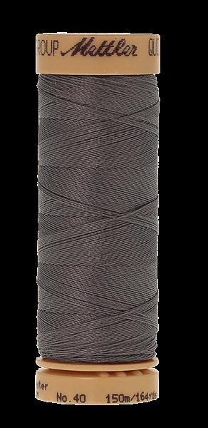 Nähgarn 150 Meter, Farbe:0724, Mettler Quilting, Baumwolle/Polyester, 2fach gewachst 10er Pack
