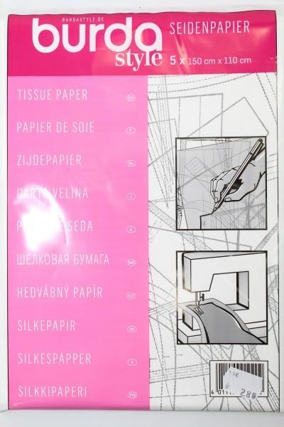 Seidenpapier, 5 x 150cm x 110cm (ohne Raster)