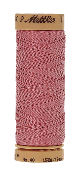 Nähgarn 150 Meter, Farbe:0803, Mettler Quilting, Baumwolle/Polyester, 2fach gewachst