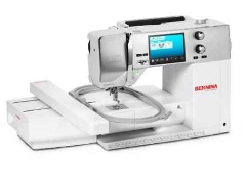 Bernina 570 QE - mit Stickmodul