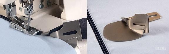 baby lock Einzelfaltschrägbinder (Eingang 40 mm / Ausgang 12 mm)
