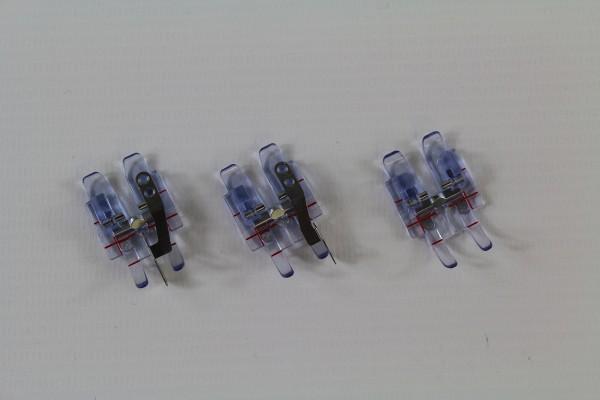 3er Füsschen Set für PFAFF Maschinen zum perfekten quilten und patchworken