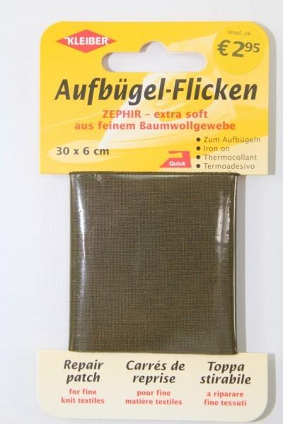 Aufbügel - Flicken 30 x 6 cm khaki