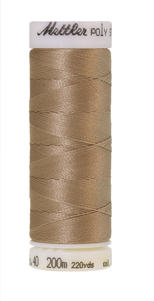 Stickgarn 200 Meter, Farbe:0874, Amann Poly Sheen