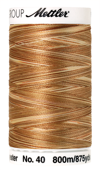Stickgarn 800 Meter, Farbe:9926, Amann Poly Sheen Multi
