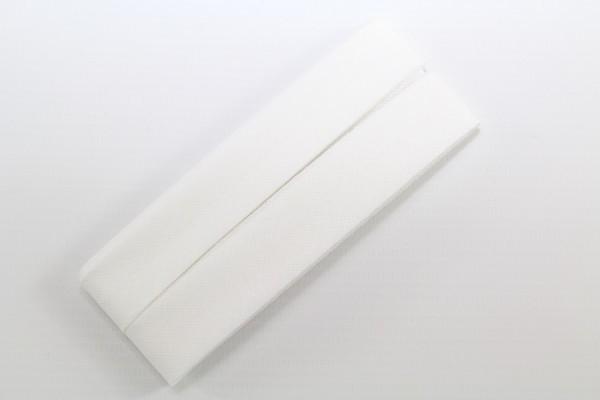 Schrägband, Baumwolle, 40/20mm, perle, 3,5m