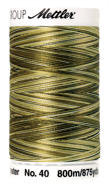 Stickgarn 800 Meter, Farbe:9976, Amann Poly Sheen Multi