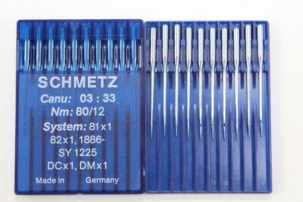 Rundkolbennadeln Stärke 80 System 81x1 / 82x1 / 1886-SY 1225 / DCx1 / DMx1