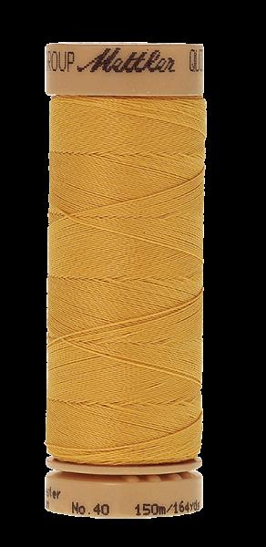 Nähgarn 150 Meter, Farbe:0500, Mettler Quilting, Baumwolle/Polyester, 2fach gewachst