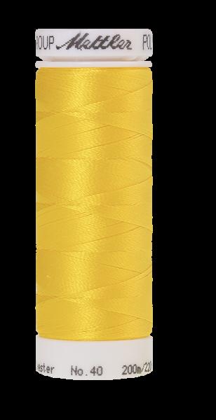 Stickgarn 200 Meter, Farbe:0600, Amann Poly Sheen