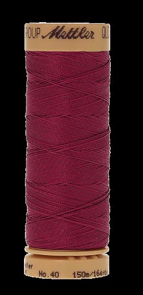 Nähgarn 150 Meter, Farbe:0959, Mettler Quilting, Baumwolle/Polyester, 2fach gewachst 10er Pack