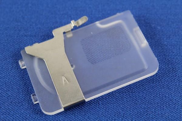 ELNA / JANOME Biesen- Kordelführung (Schmale Führung: für Kordeln bis 1,5 mm Durchmesser)