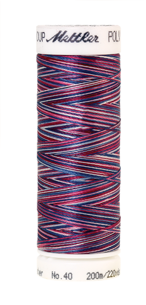 Stickgarn 200 Meter, Farbe:9918, Amann Poly Sheen Multi