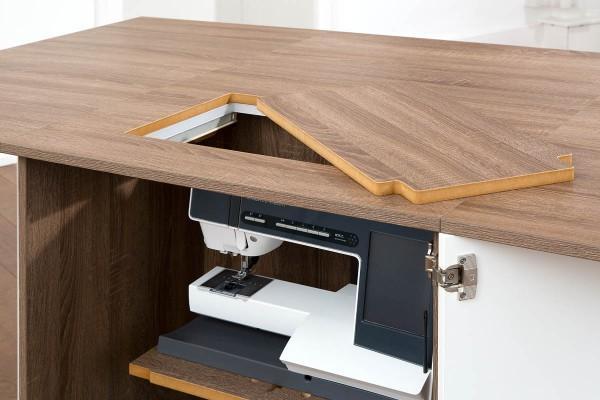 RMF Freiarmeinlage Overlock-Typ Holz -MDF-Einlage