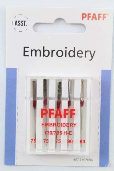 Original PFAFF Embroidery Nadeln (Stärke 75 und 90)