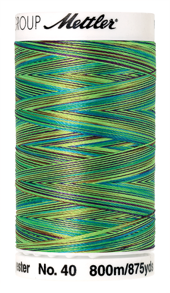 Stickgarn 800 Meter, Farbe:9971, Amann Poly Sheen Multi