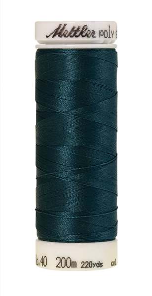 Stickgarn 200 Meter, Farbe:4644, Amann Poly Sheen