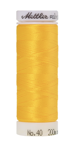Stickgarn 200 Meter, Farbe:0605, Amann Poly Sheen