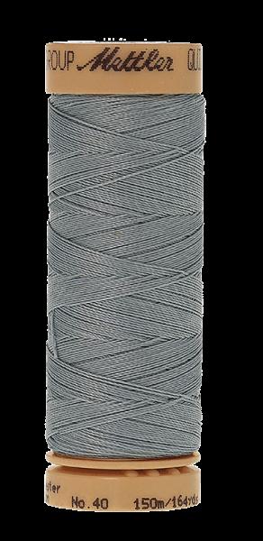 Nähgarn 150 Meter, Farbe:0669, Mettler Quilting, Baumwolle/Polyester, 2fach gewachst 10er Pack